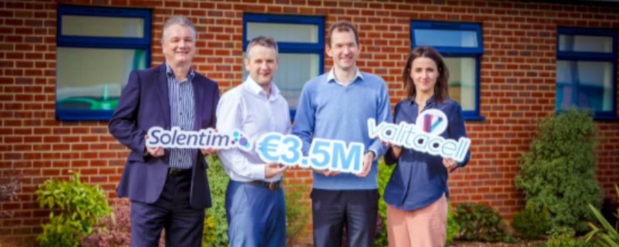 ValitaCell & Solentim €3.5M funding